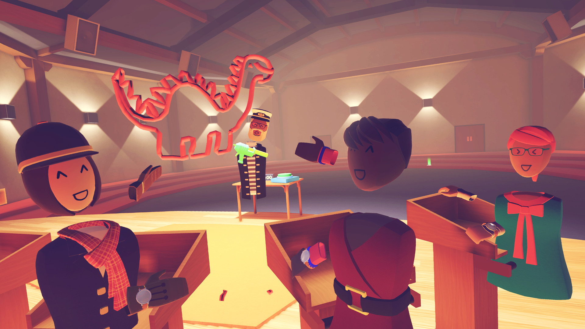 Rec Room Update Adds Private Lounge Space And Invite