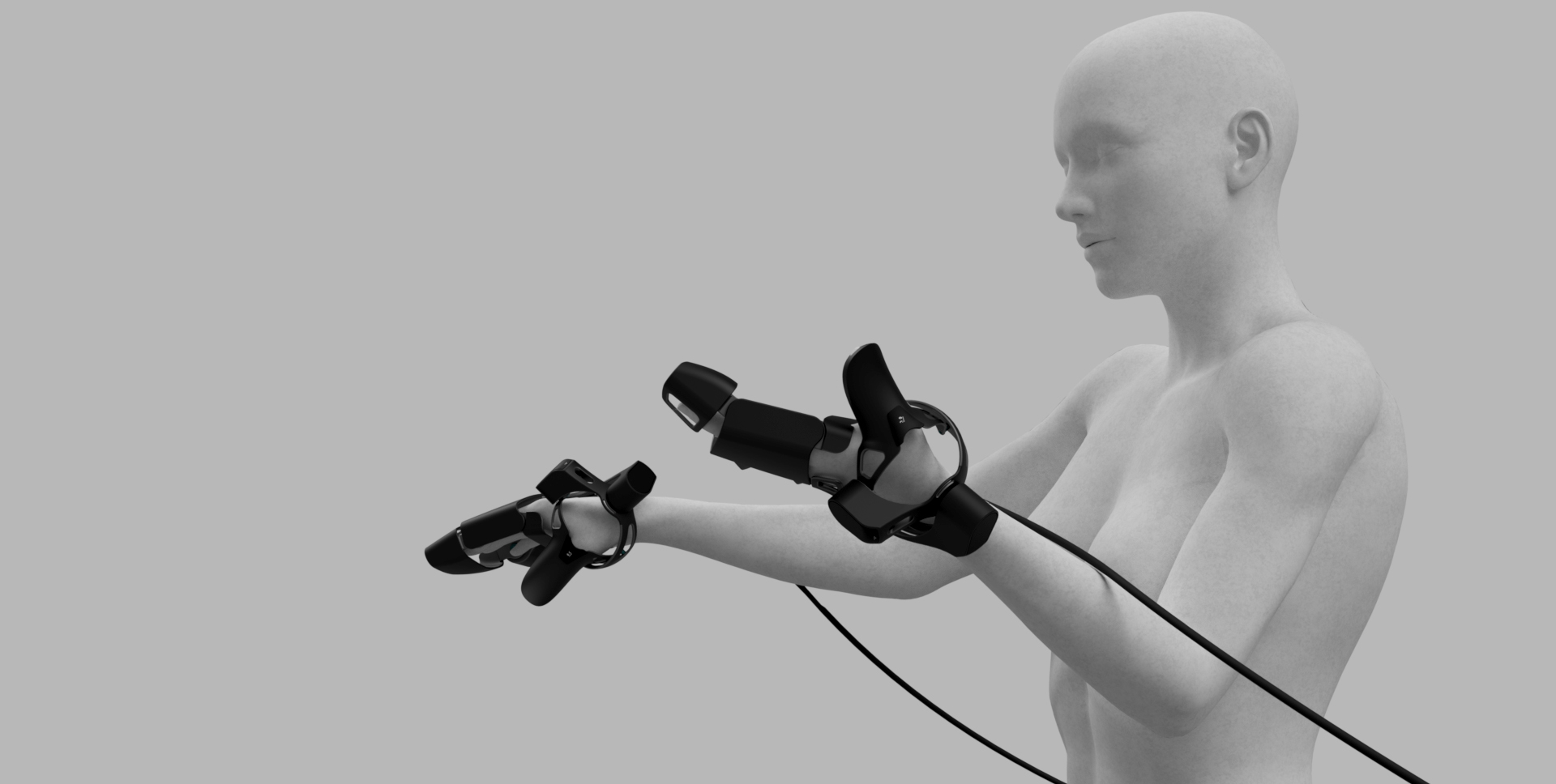 6127e6557ef1 EXOS Haptic VR Exoskeleton Glove Aims to Deliver Practical Touch Feedback