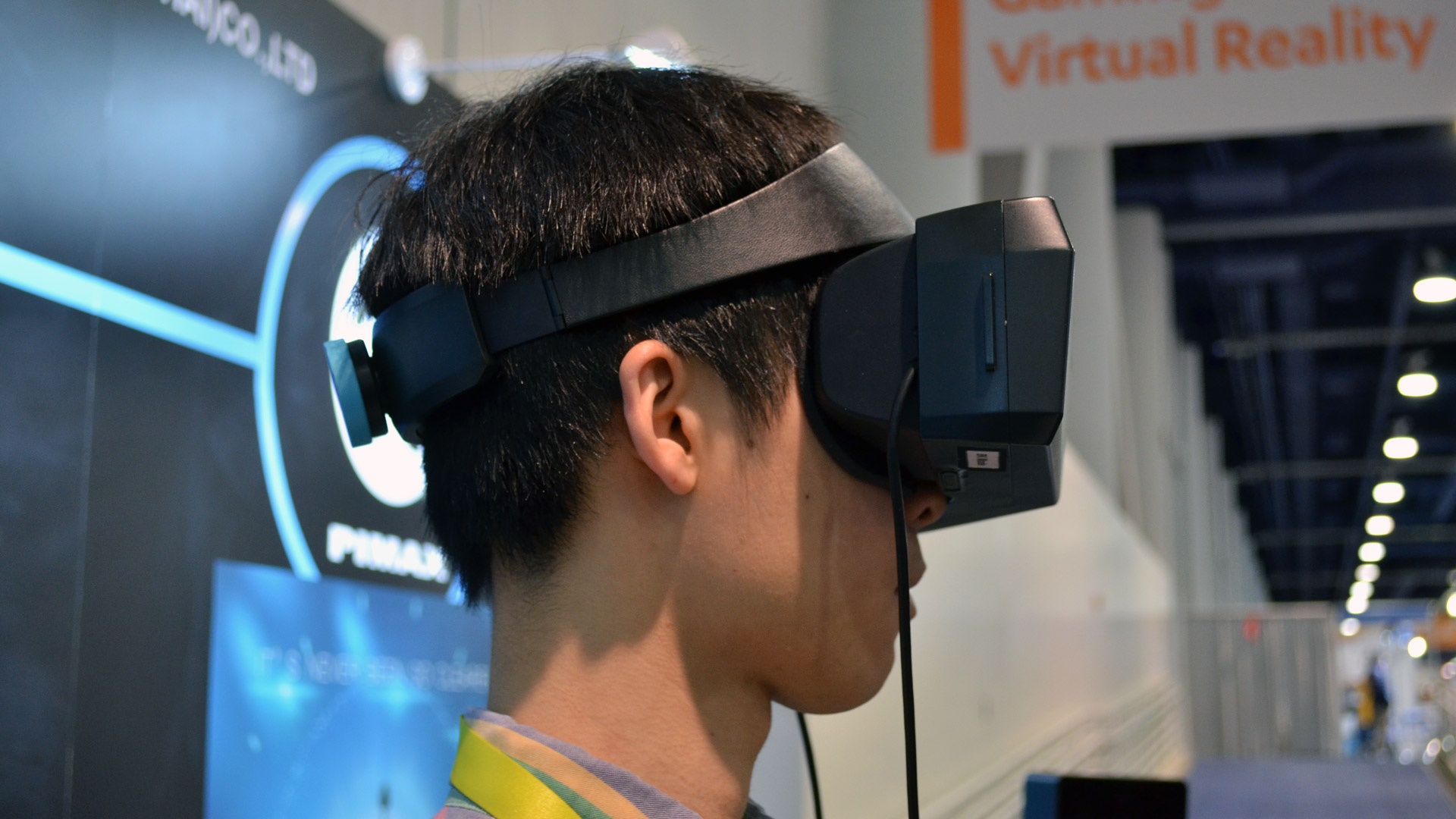 Hands on: PiMAX's 8K Headset Proves that High FOV VR is
