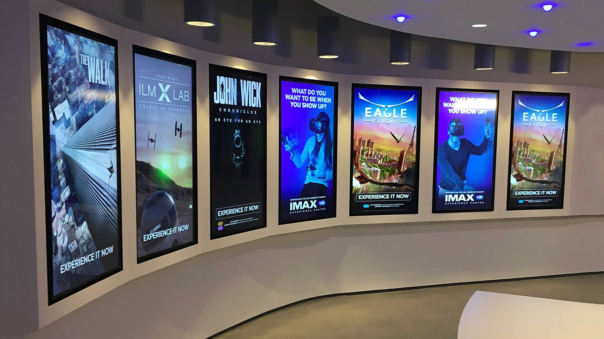 Inside The First Imax Vr Experience Centre Road To Vr