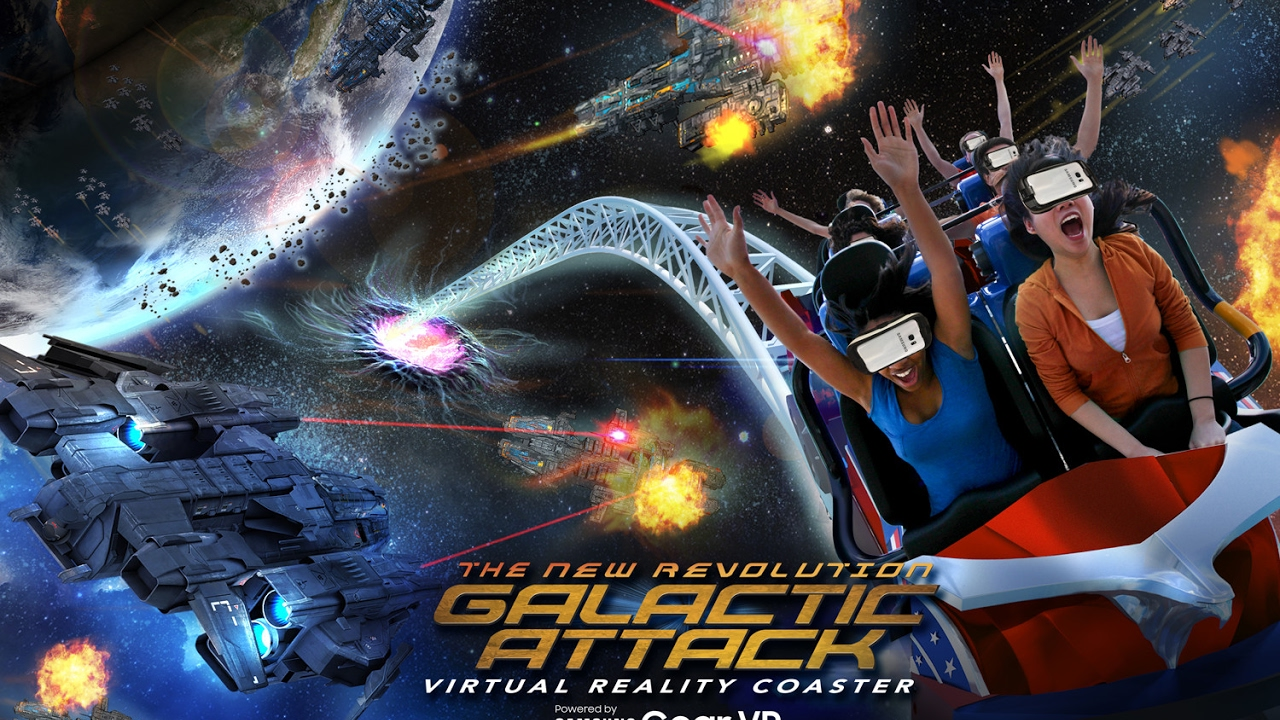 Samsung and Six Flags Launch New VR Coasters Combining 'Mixed Reality' and 'Complex Gameplay'