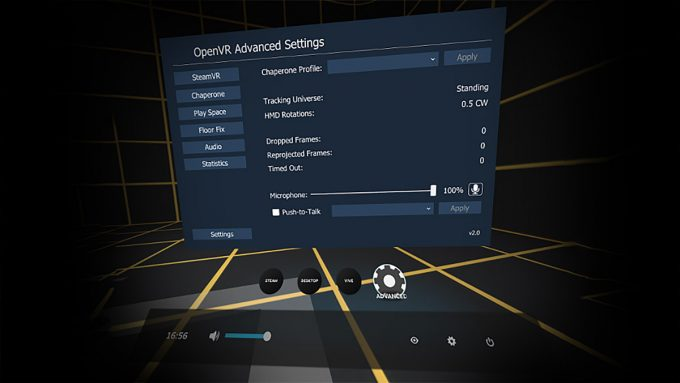 openvr advanced settings htc vive supersampling oculus rift (1)