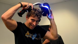 Marks at PlayStation's Magic Lab