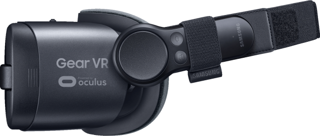 the New 2017 Gear VR with Controller