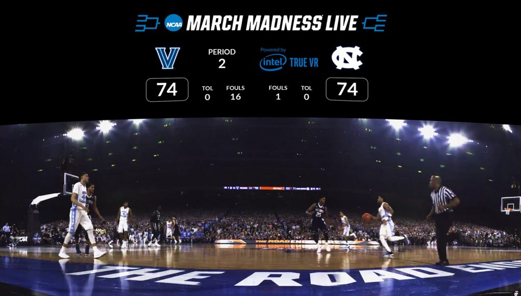 'NCAA March Madness Live VR' Let's You Watch the Courtside Action for $2 on Gear VR