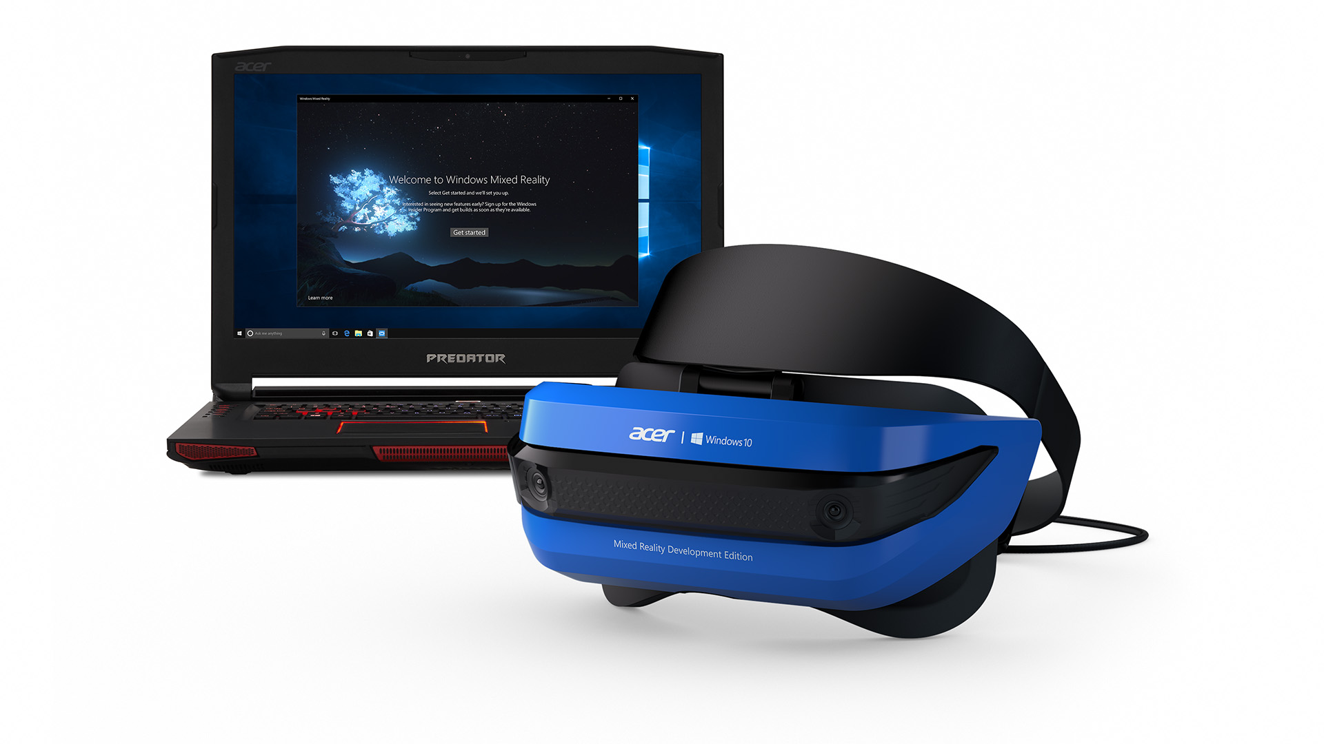 Windows Mixed Reality Dev Headsets Ship This Month Vr Content Earphone Headset Asus Stereo Oem Acers