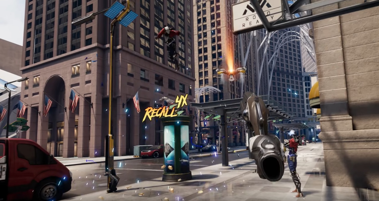 Robo Recall Review Road To Vr