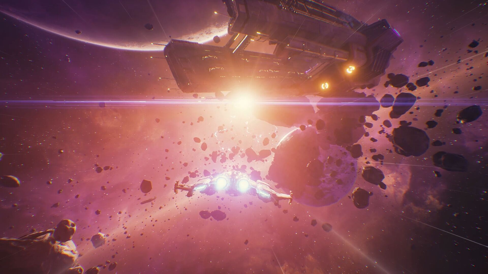 First Look: 'Everspace' is a Stunning VR Space Shooter That Scratches My Freespace Itch