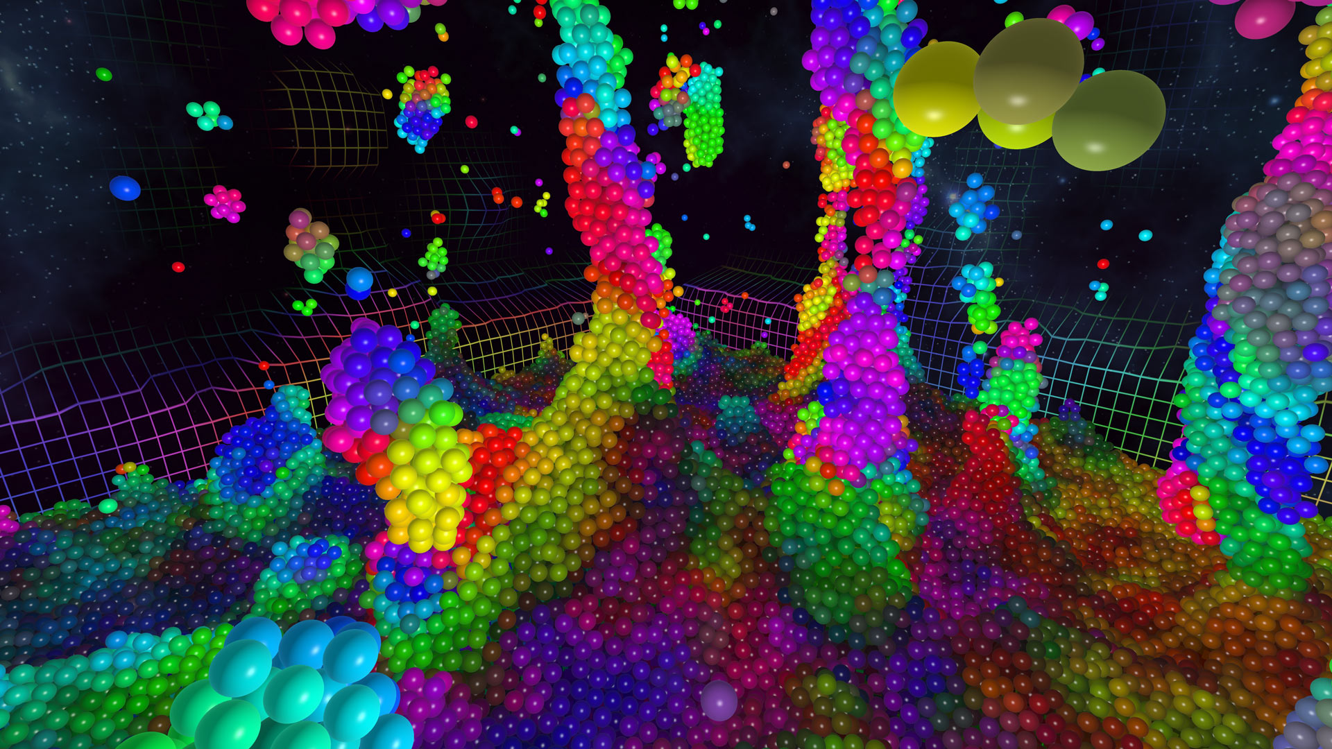 Hands-on: 'Chroma Lab' is a Mesmerizing Physics Sandbox and a Simple But Stunning VR Showcase