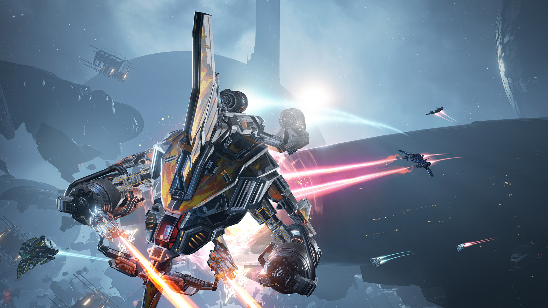 EVE: Valkyrie Warzone' Update Adding Non-VR Mode and PS4/PC