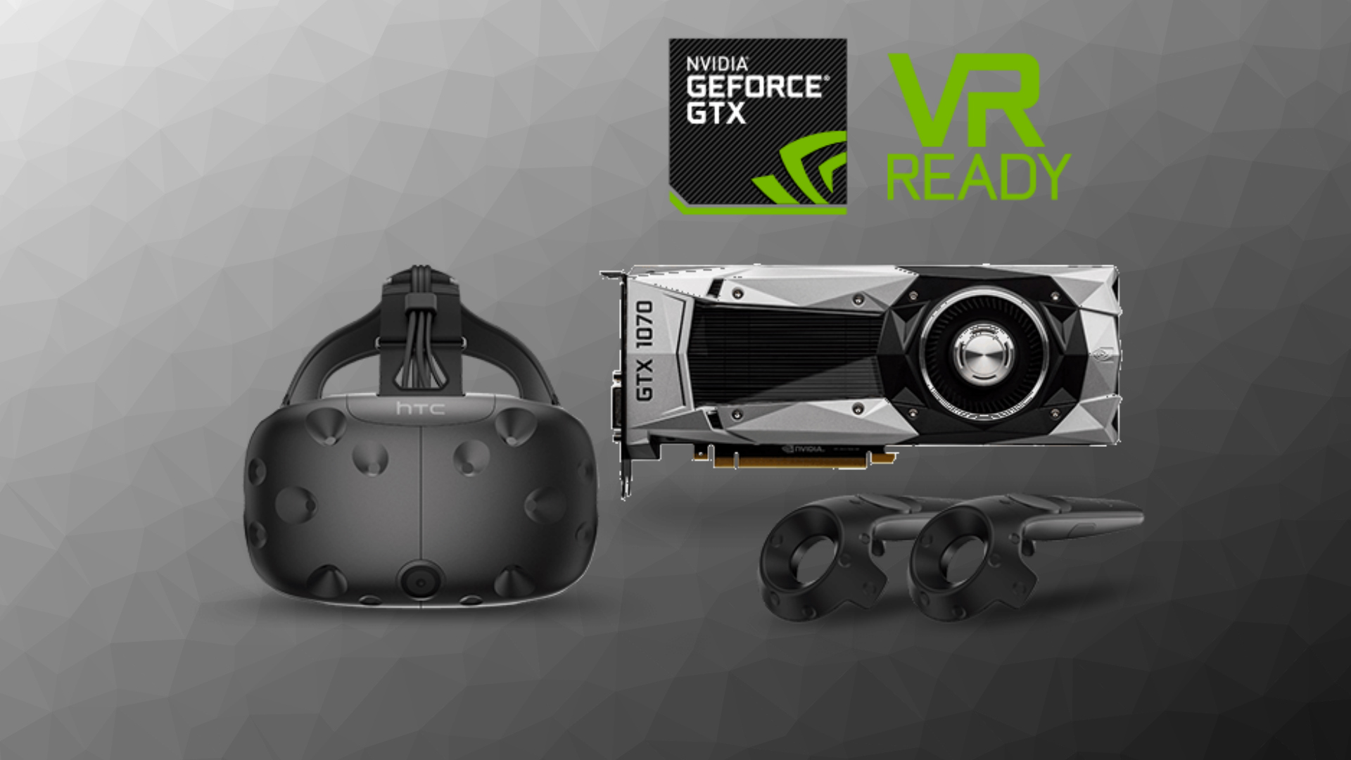 HTC Vive + GTX 1070 Founders Edition Bundle is Back for $800, Including Free 'Fallout 4 VR'
