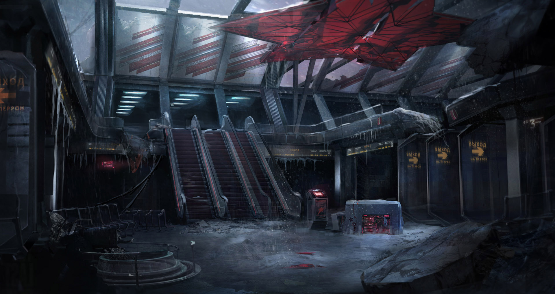 ARKTIKA 1' Behind-the-scenes – Insights & Artwork from 4A Games