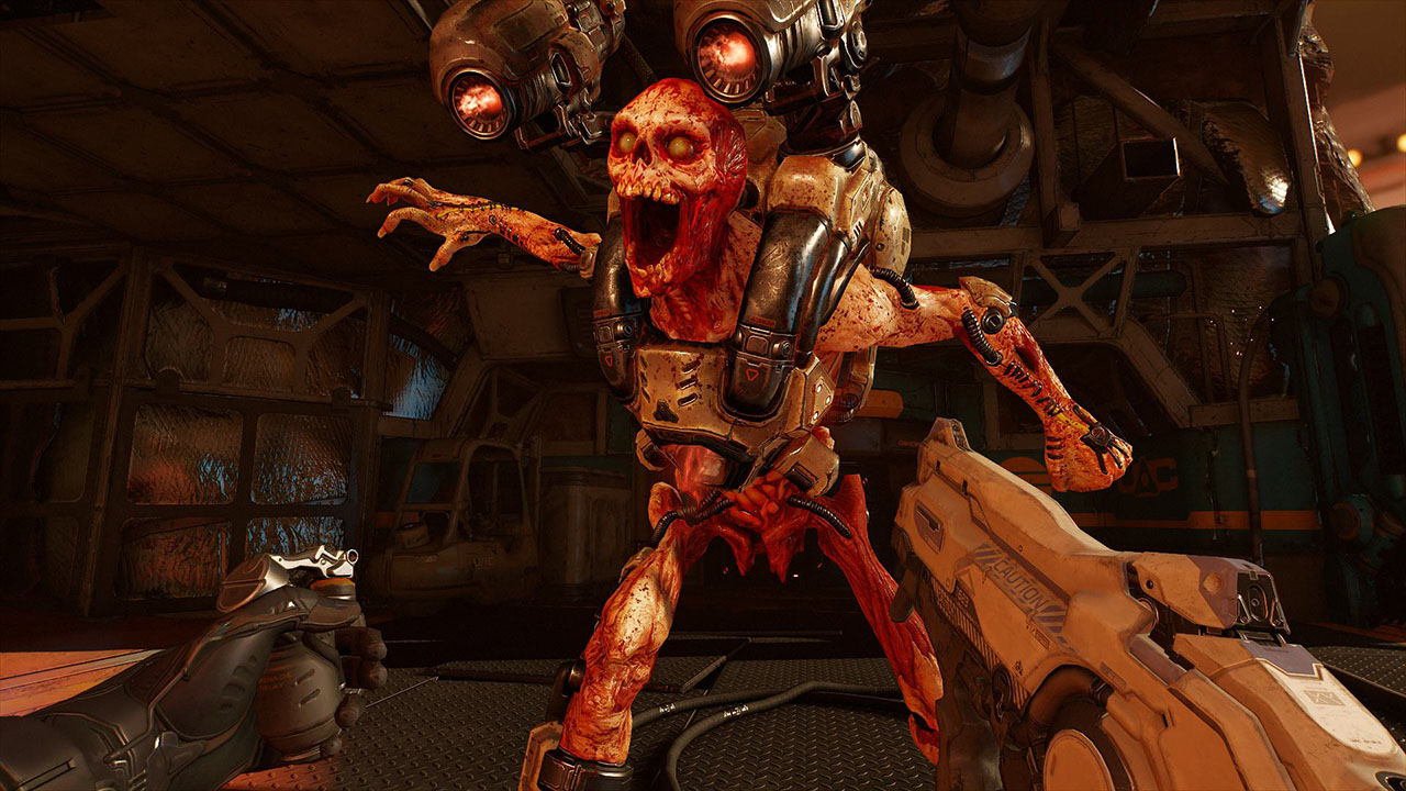 Doom Vfr Playstation Aim Support Isn T Perfect But It