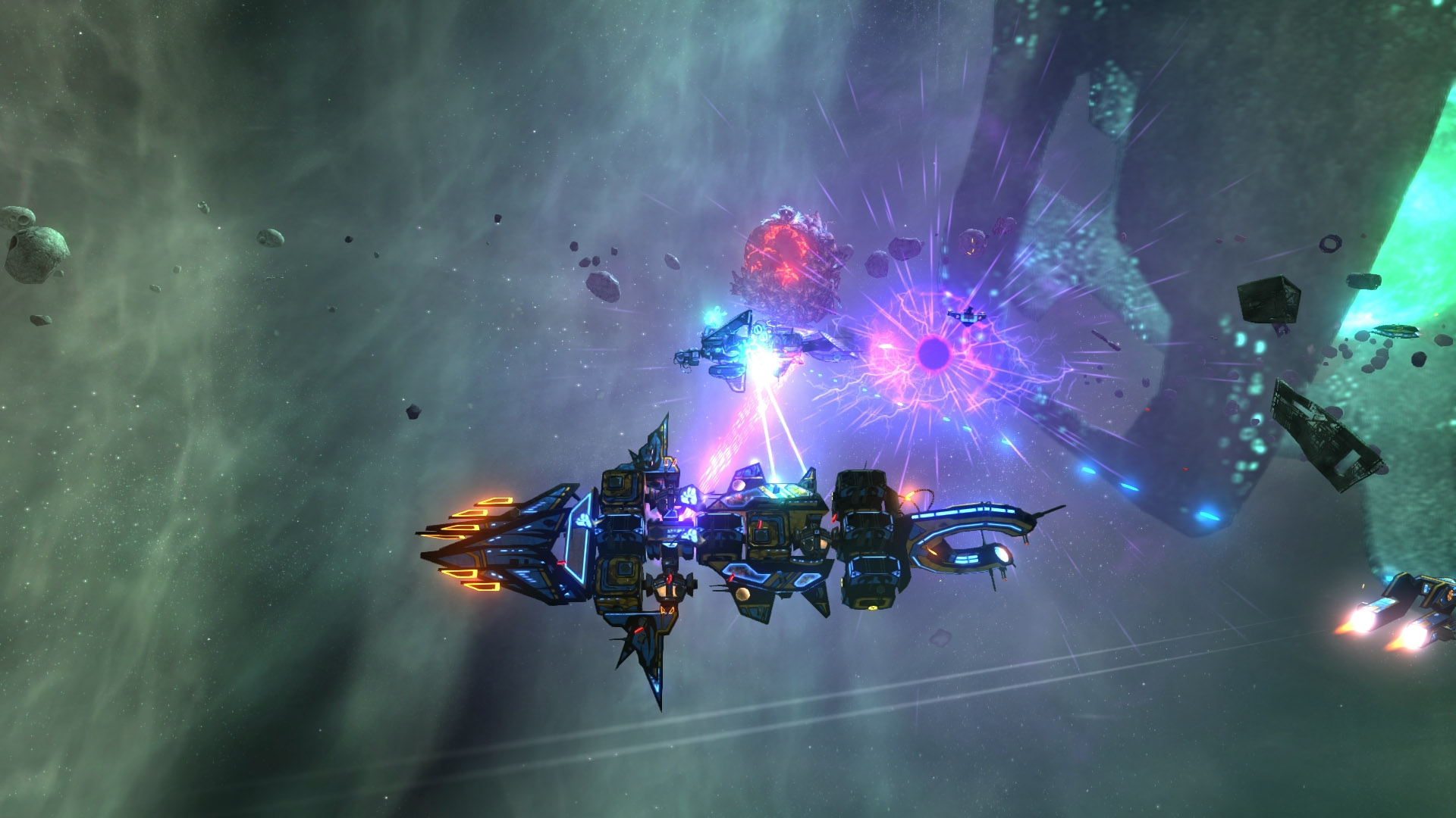 Survival-Exploration Game 'Space Pirates and Zombies 2' Launches Out