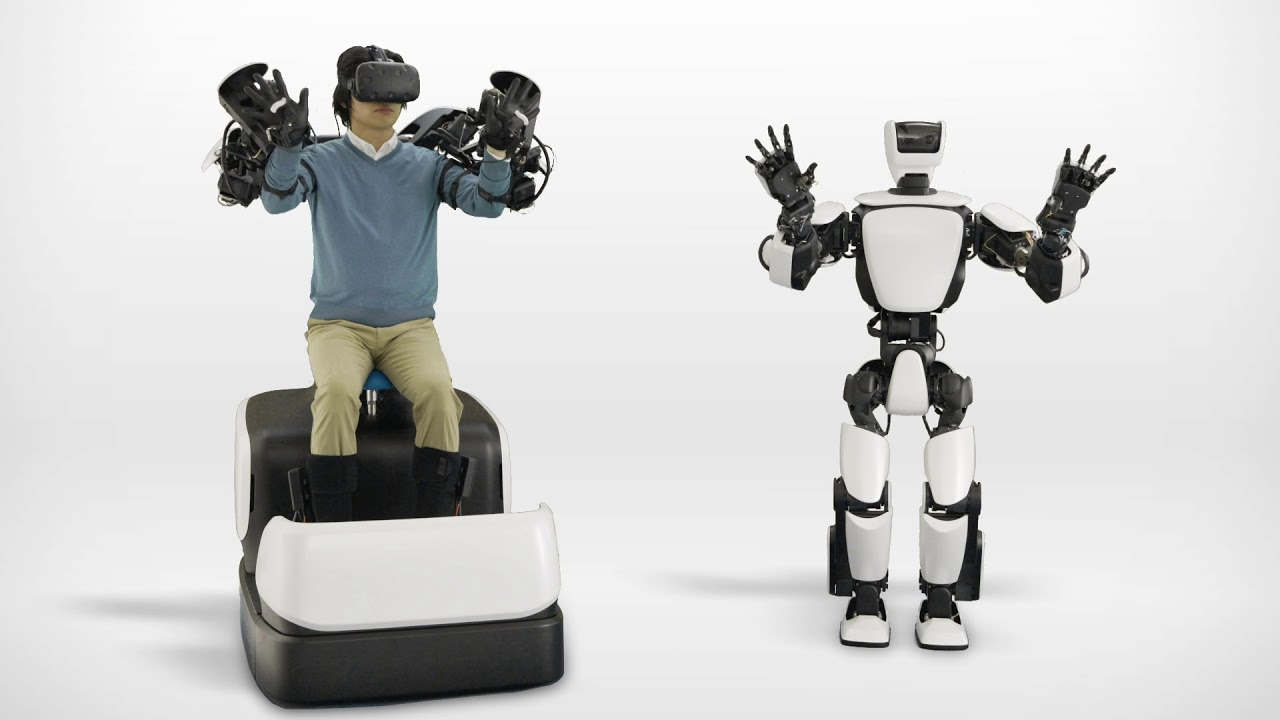Toyota's New Experimental Humanoid Robot Uses HTC Vive for Remote Operation – Road to VR