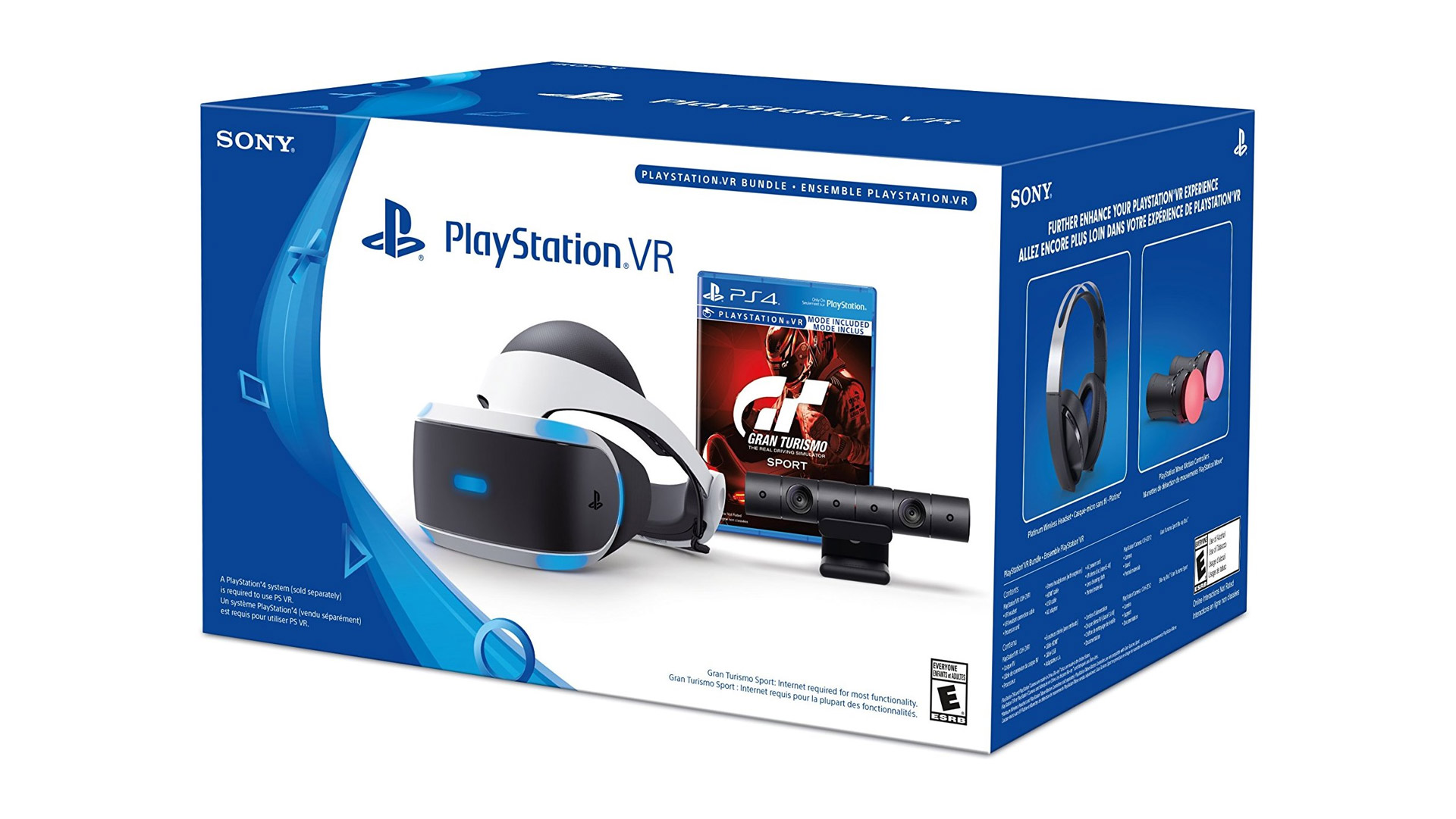 sony slashes playstation vr 39 gran turismo sport 39 bundle. Black Bedroom Furniture Sets. Home Design Ideas