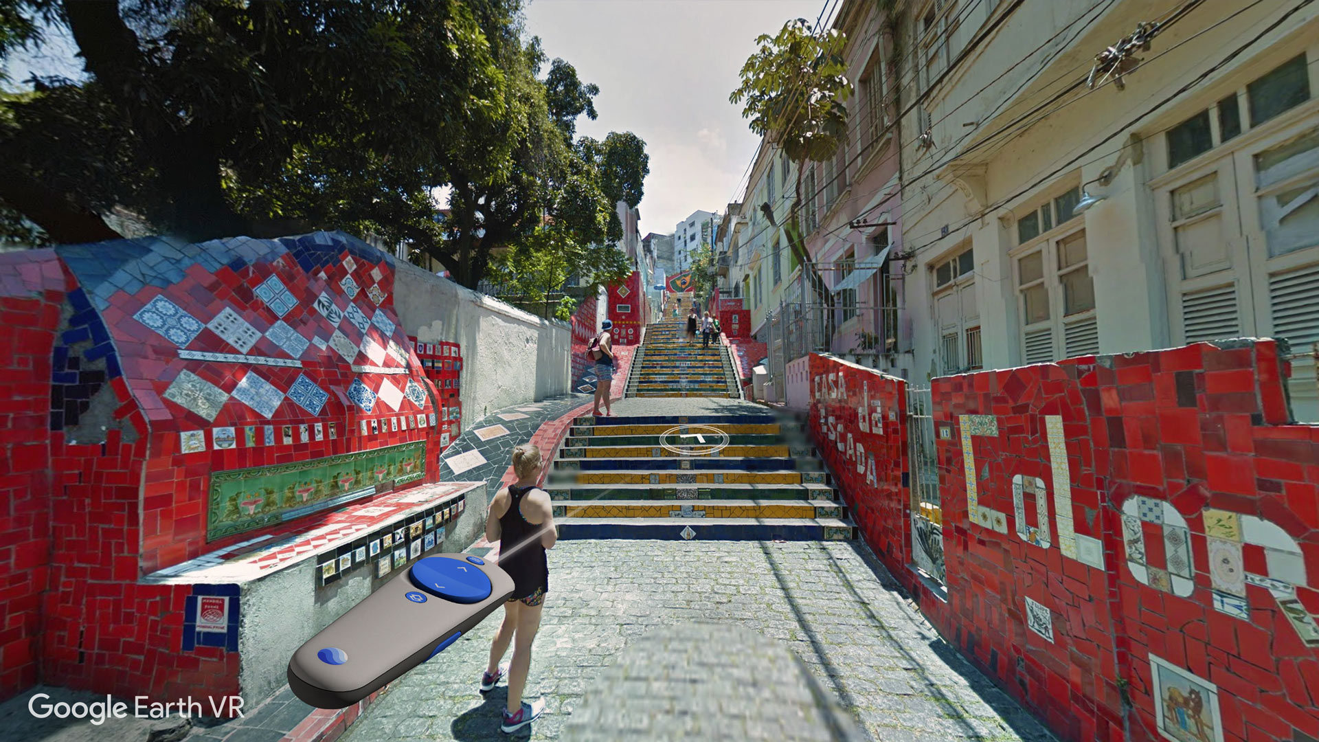 google earth vr update adds street view navigation optimizes for