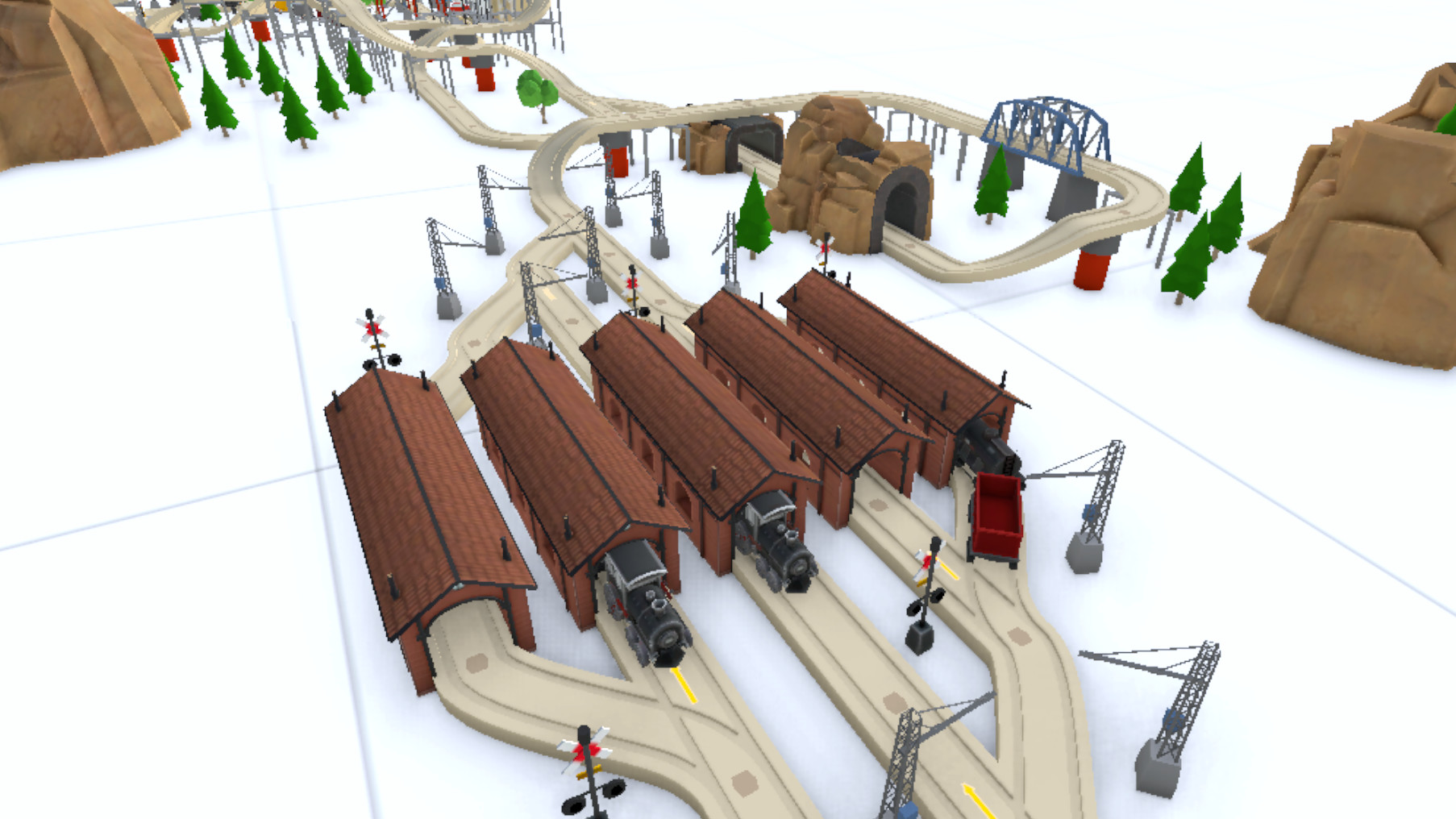 'TrainerVR' is a Physics-based VR Model Train Set that Brings You Back to Simpler Times
