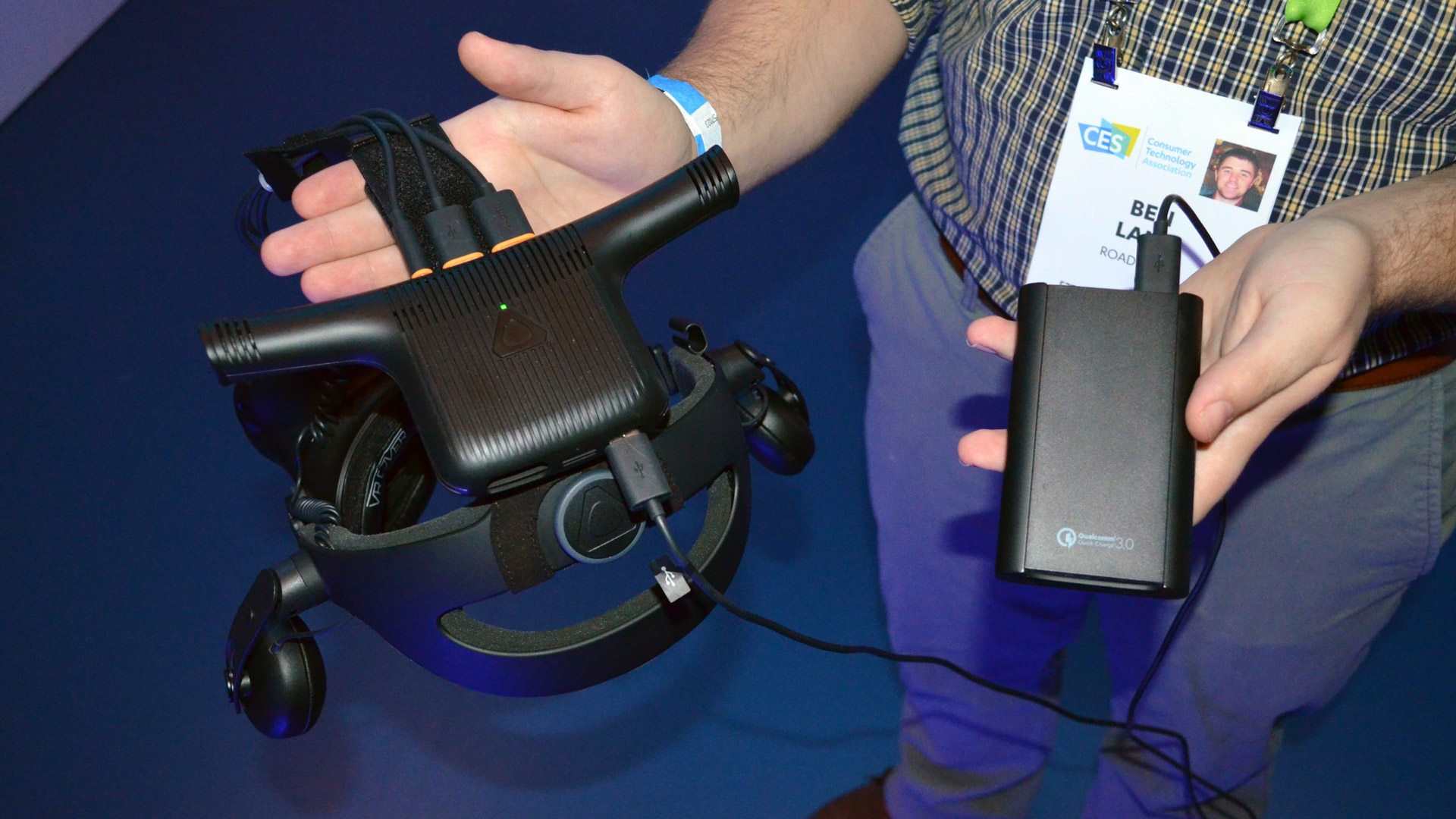 CES 2018: Vive Wireless Adapter Debuts With Robust Connection but