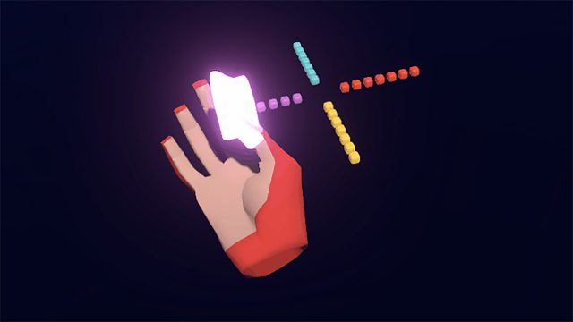 Leap Motion Exploires Designs for Single-handed Shortcuts in