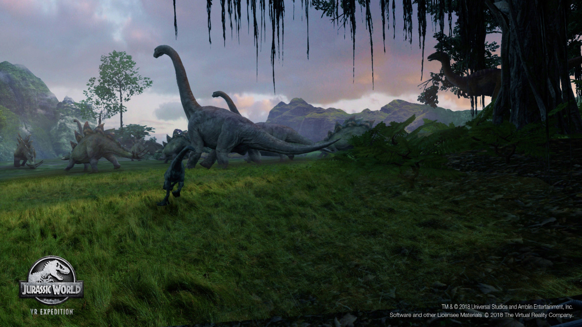 New 'Jurassic World' VR Game to Debut at Dave & Buster's