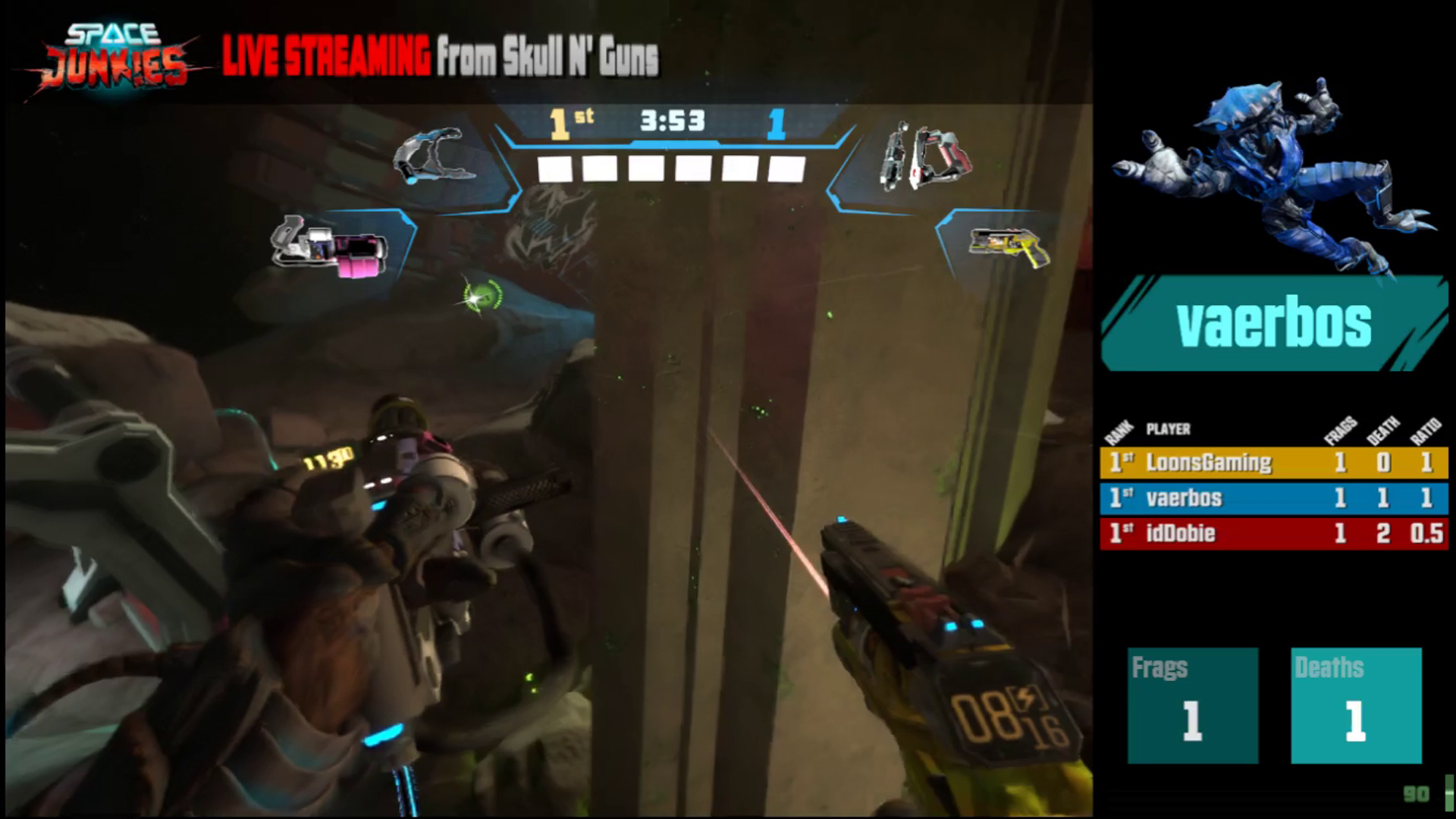 'Space Junkies' Open Beta to Land on All Major VR Headsets Tomorrow with Cross-play