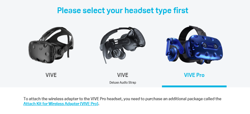 HTC Publishes Vive Wireless Adapter Setup Instructions