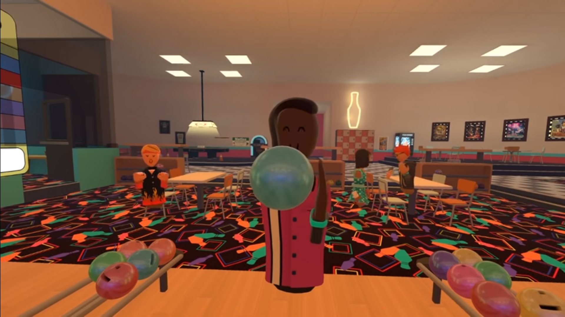 Rec Room Update Brings Multiplayer Bowling To Social Vr