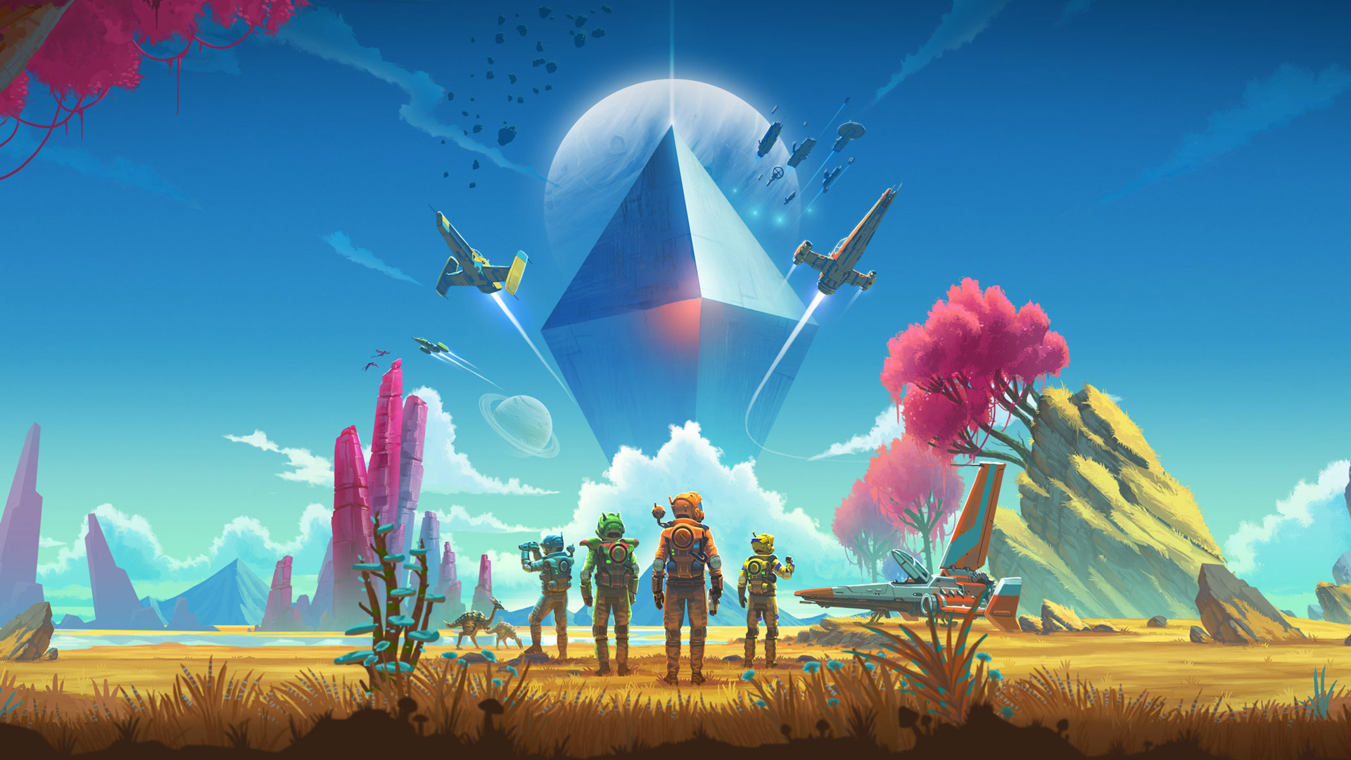 Hands-on: 'No Man's Sky' in VR Promises a Galaxy Full of Possibilities, with Friends