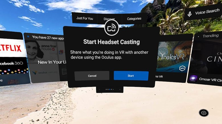 Oculus Brings Screen Casting to Oculus Go – Road to VR