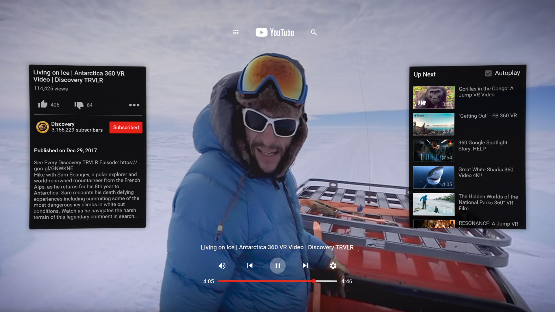 'YouTube VR' Finally Comes to Oculus Go, Now Available on Oculus Store