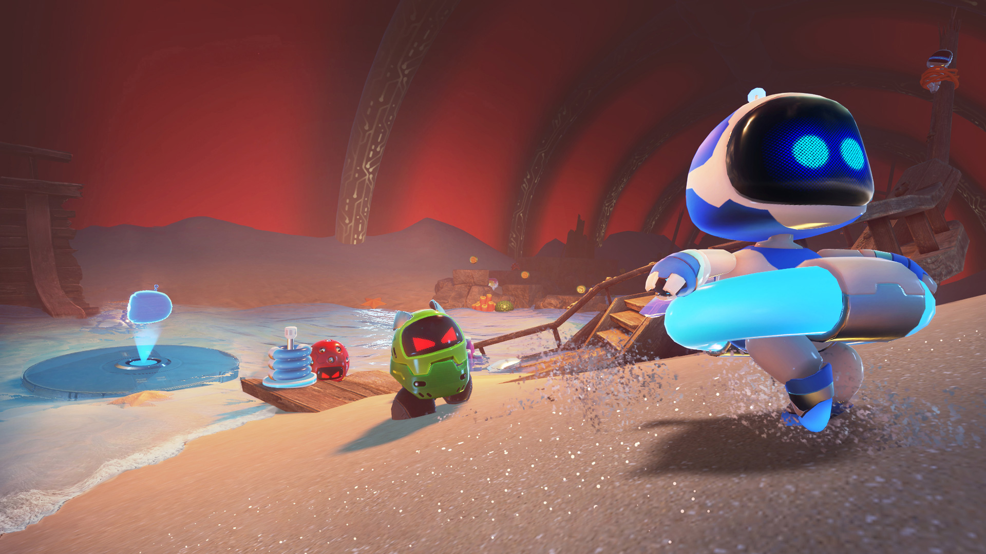 Astro Bot Behind The Scenes Vr Insights From Sony S