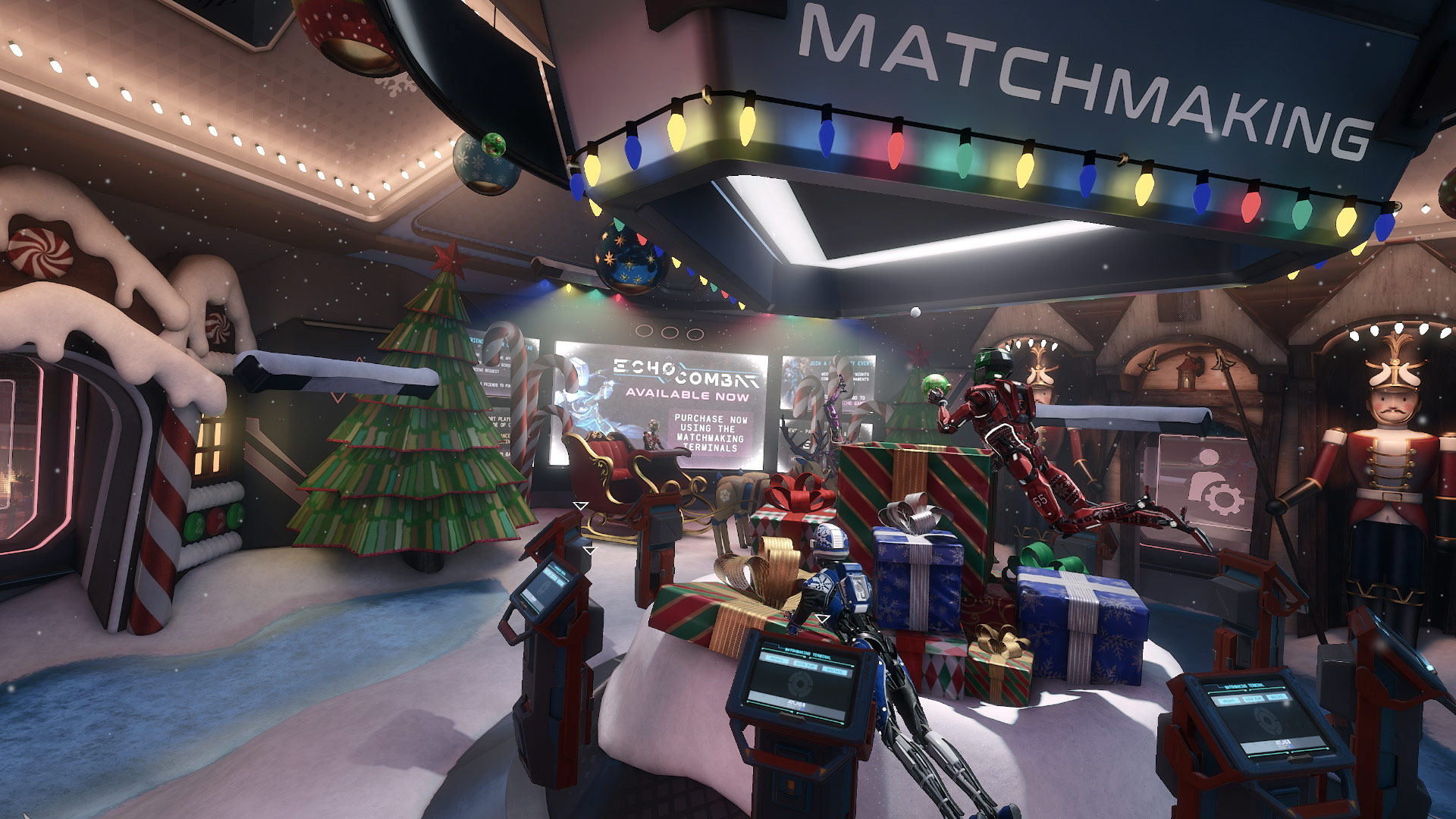 'Echo VR' Unleashes a Lethal Dose of Holiday Cheer in 'Winter Village' Event