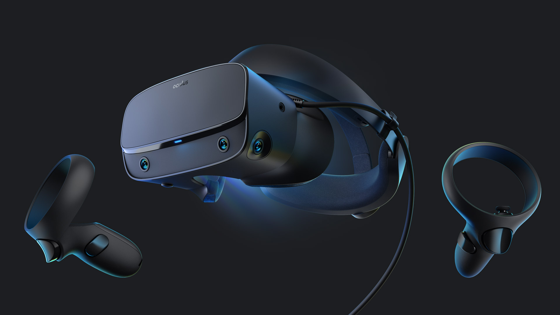 Oculus Rift S Revealed with Inside-out Tracking, Resolution Bump, & New Ergonomics