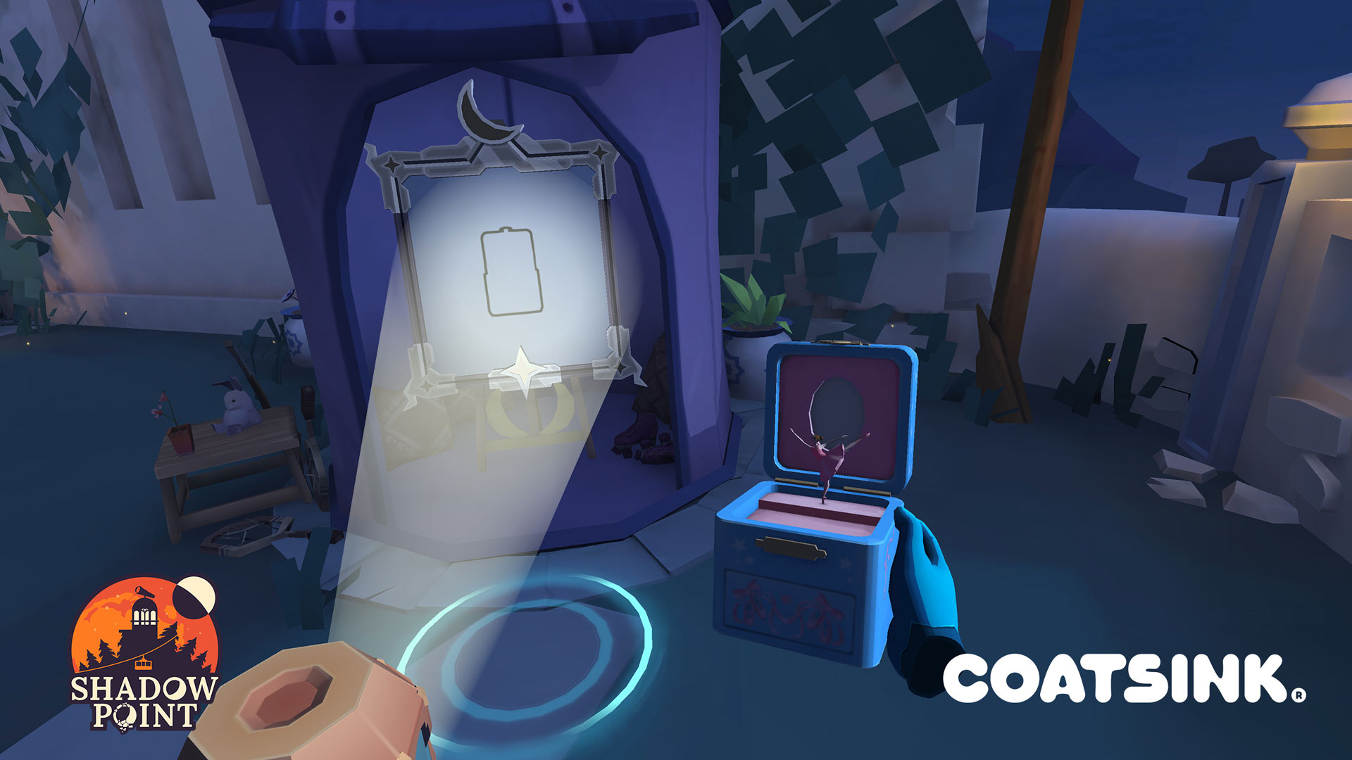'Shadow Level' is a Intelligent Room-scale Puzzler Narrated by Sir Patrick Stewart 12