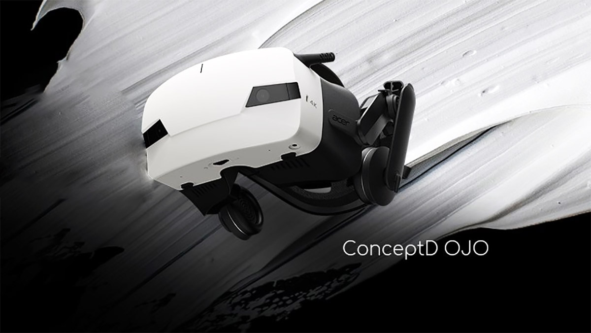 Acer Announces New OJO Headset with Higher Res, Open-ear Audio, & IPD Adjustment