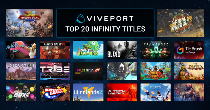 HTC is Now Giving Away 2 Free Months of Viveport Infinity to Rift