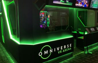 Virtuix Debuts 'VR Area' Attraction at Dave & Buster's Austin Location – Highway to VR 6