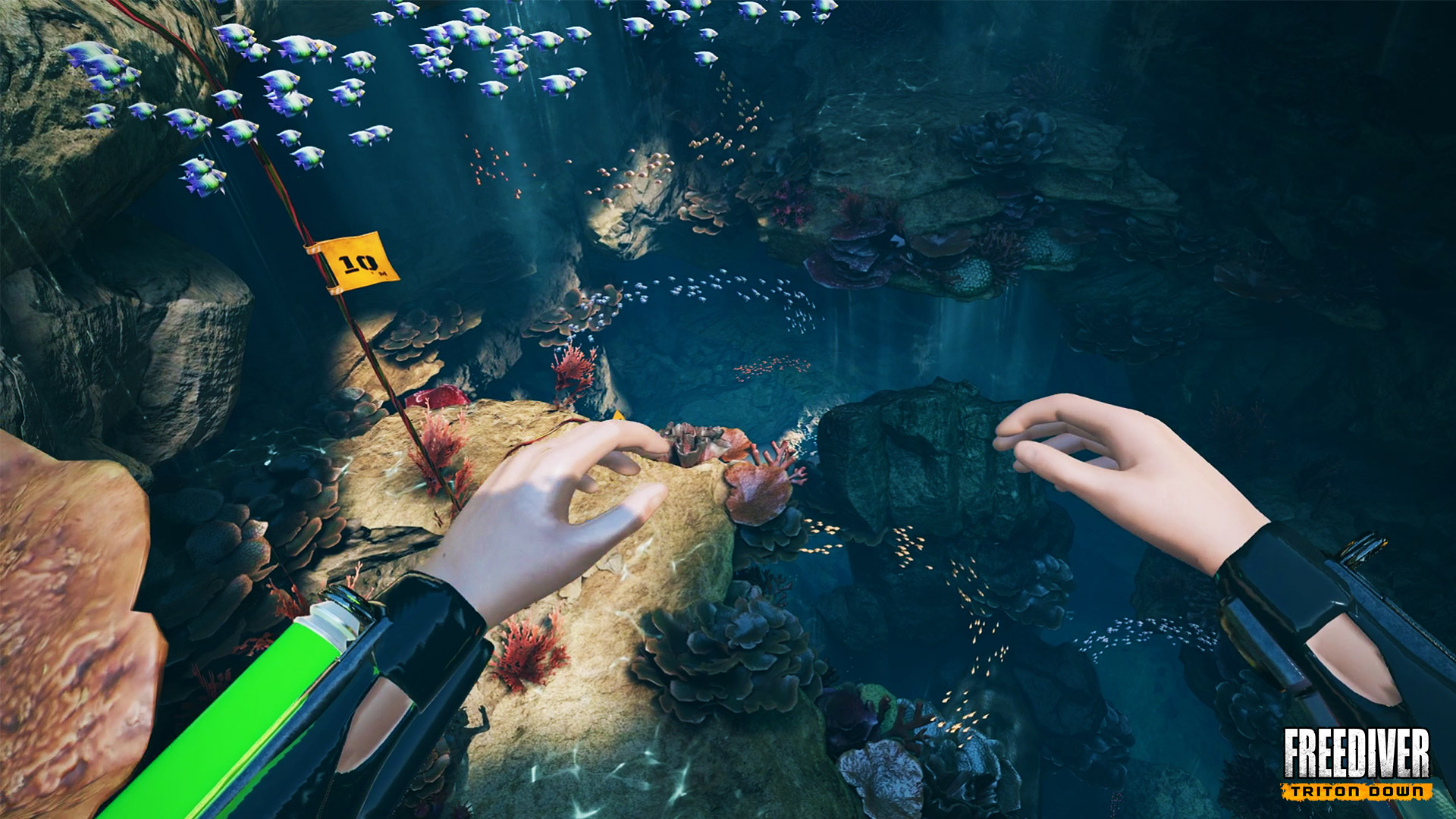 Freediver: Triton Down is a Short VR Adventure Full of Good Ideas
