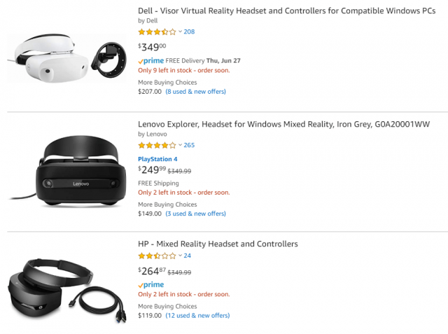 Most Windows VR Headsets Have Vanished from the Microsoft Store 2
