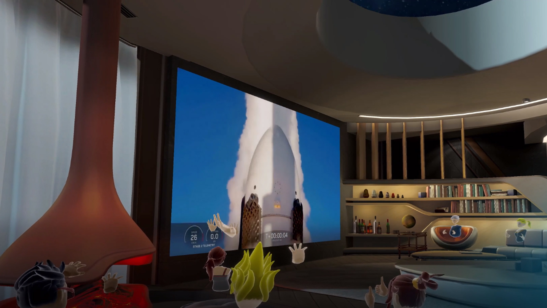 Bigscreen Boasts 5,000+ RSVPs for SpaceX Launch Viewing Today – Road to VR