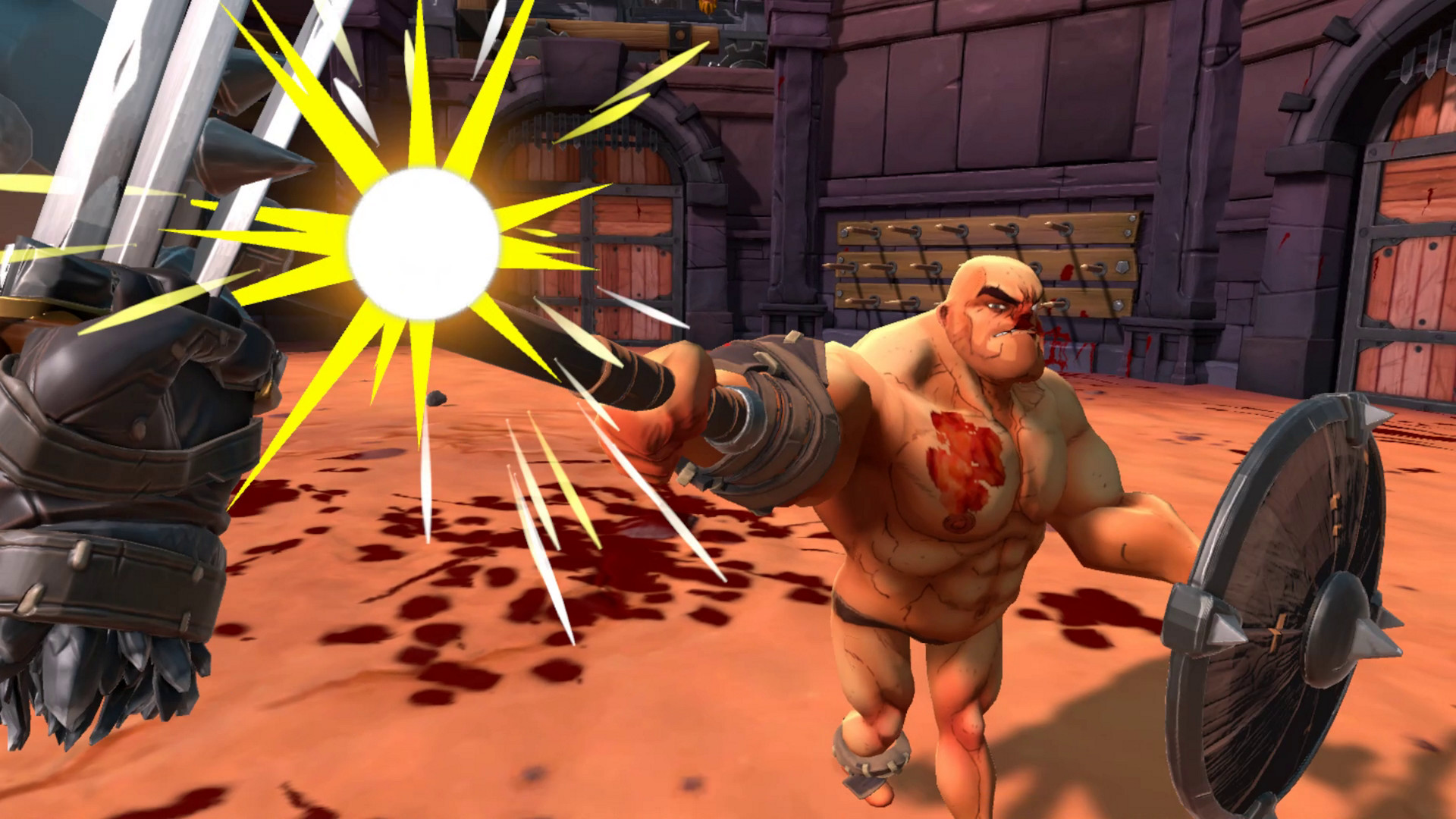 Hyperviolent Gladiator Sim GORN to Leave Early Access Soon
