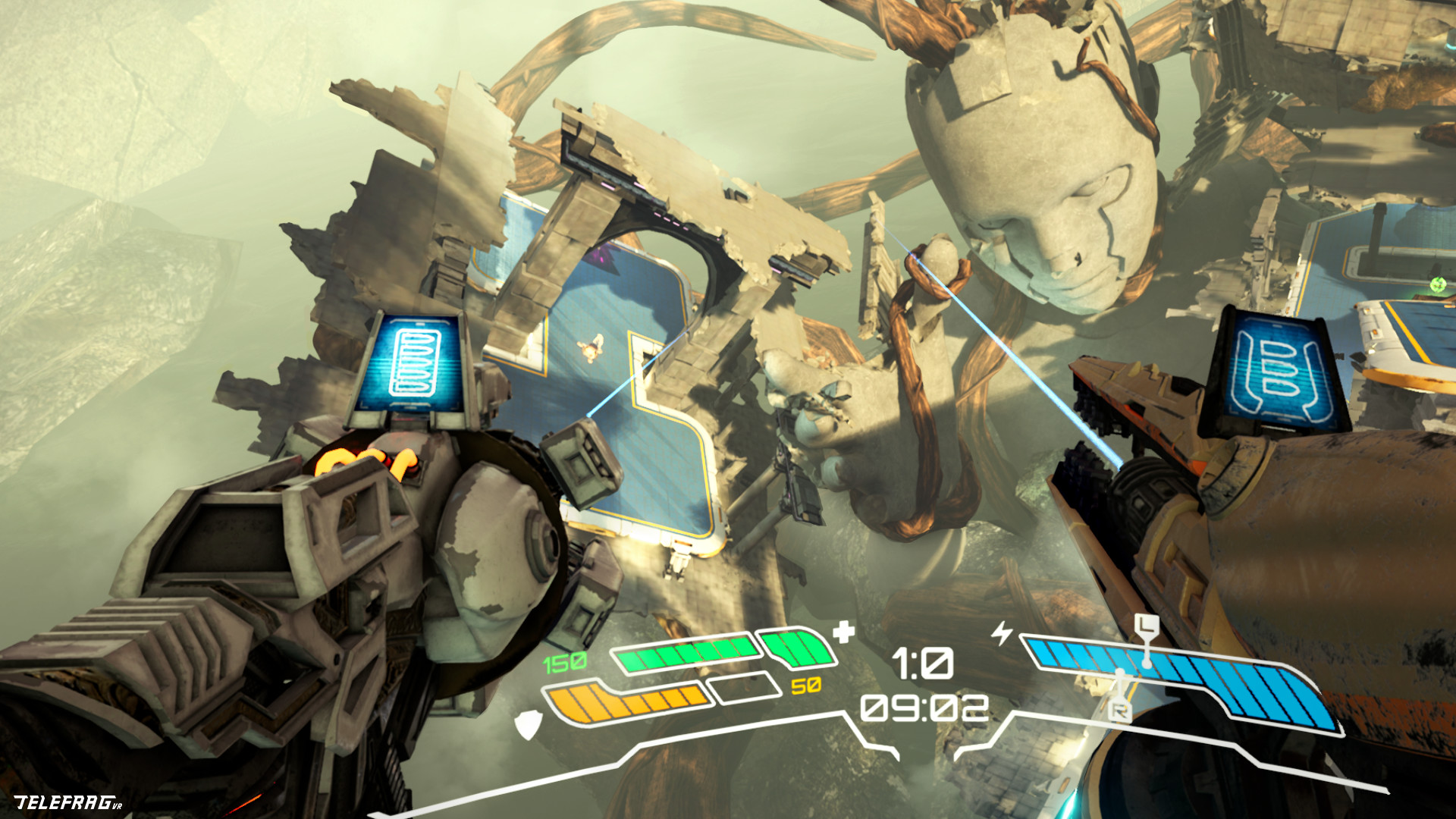 Arena Shooter Telefrag to Launch on PC VR & PSVR Next Week, Trailer Here