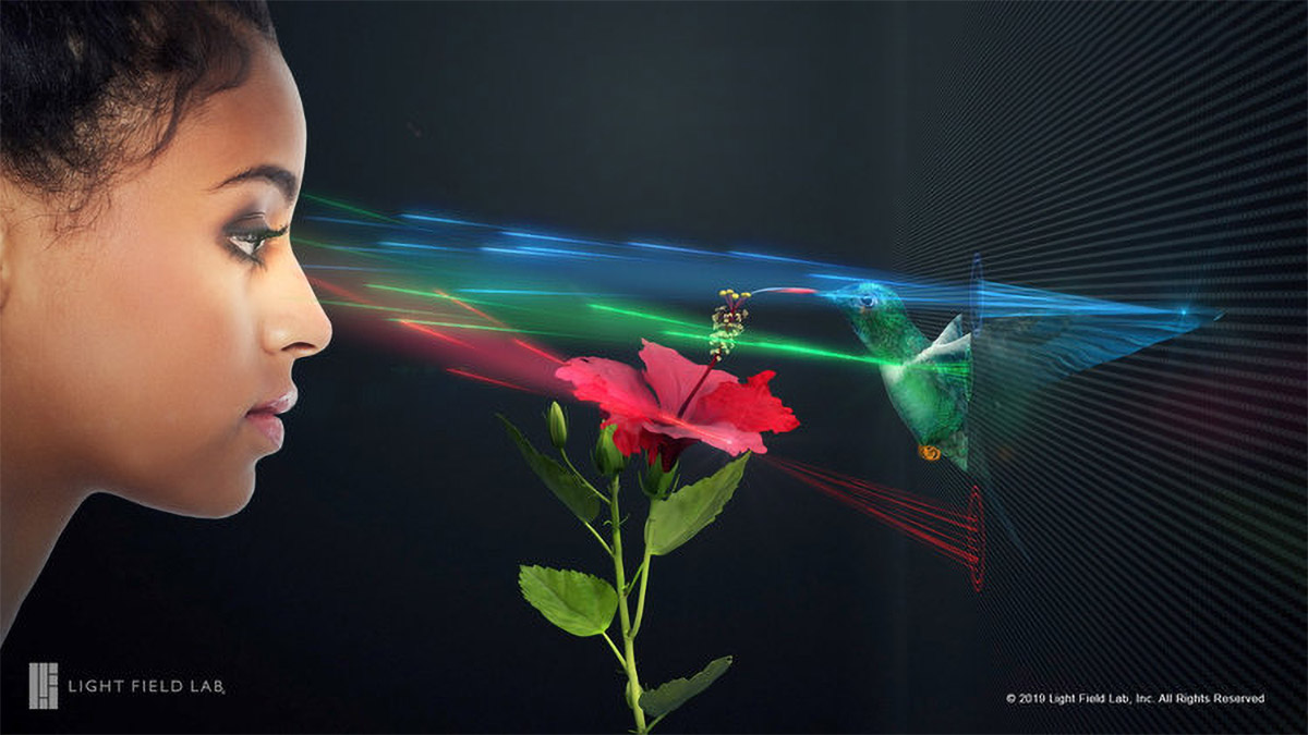 Light Field Lab Secures $28 Million to Develop Holographic Displays