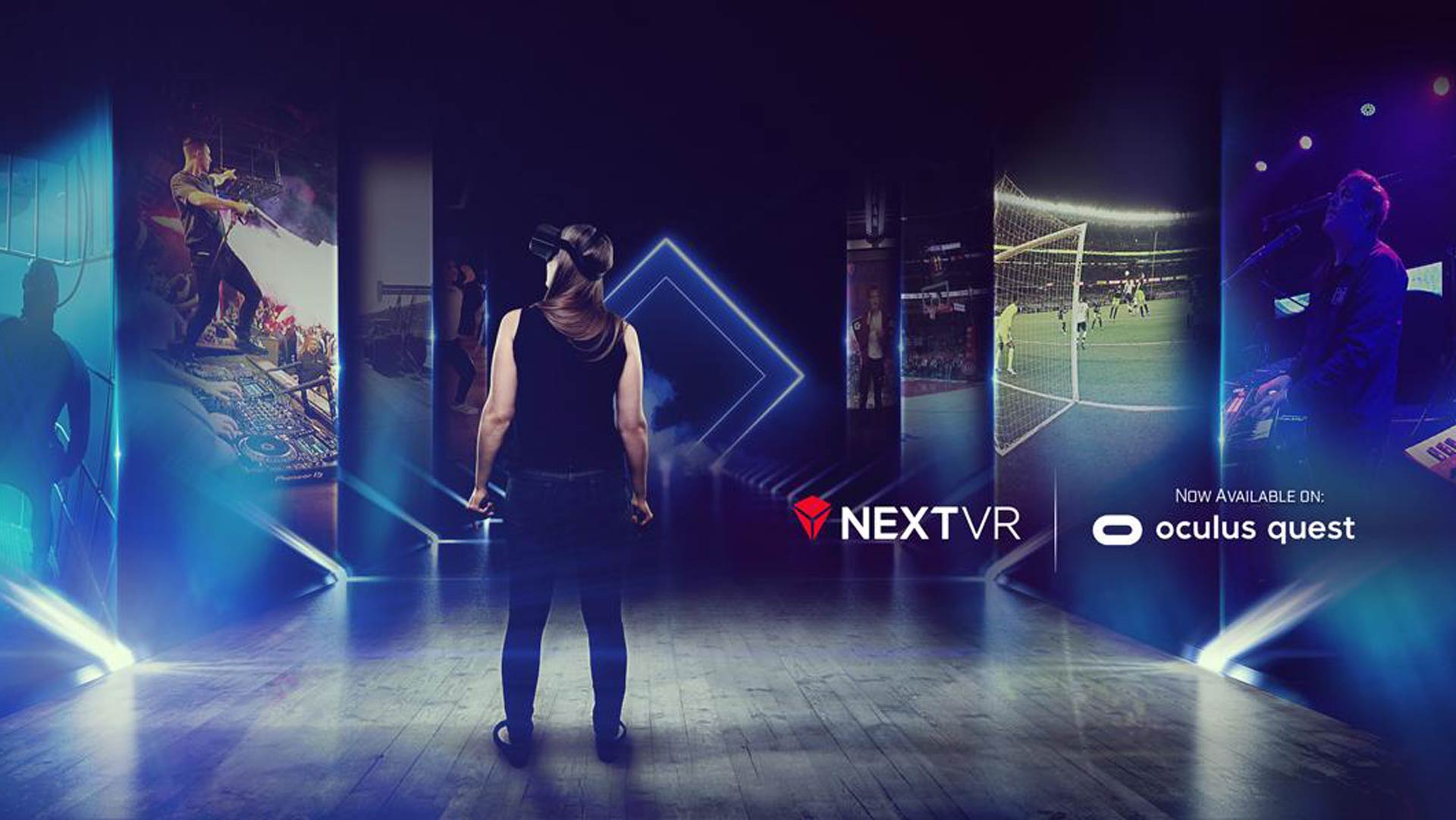 NextVR Brings Its Live Streamed Events to Oculus Quest – Road to VR