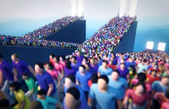 HUMANITY Makes Gameplay from Massive Crowds, Coming PSVR 2020 1