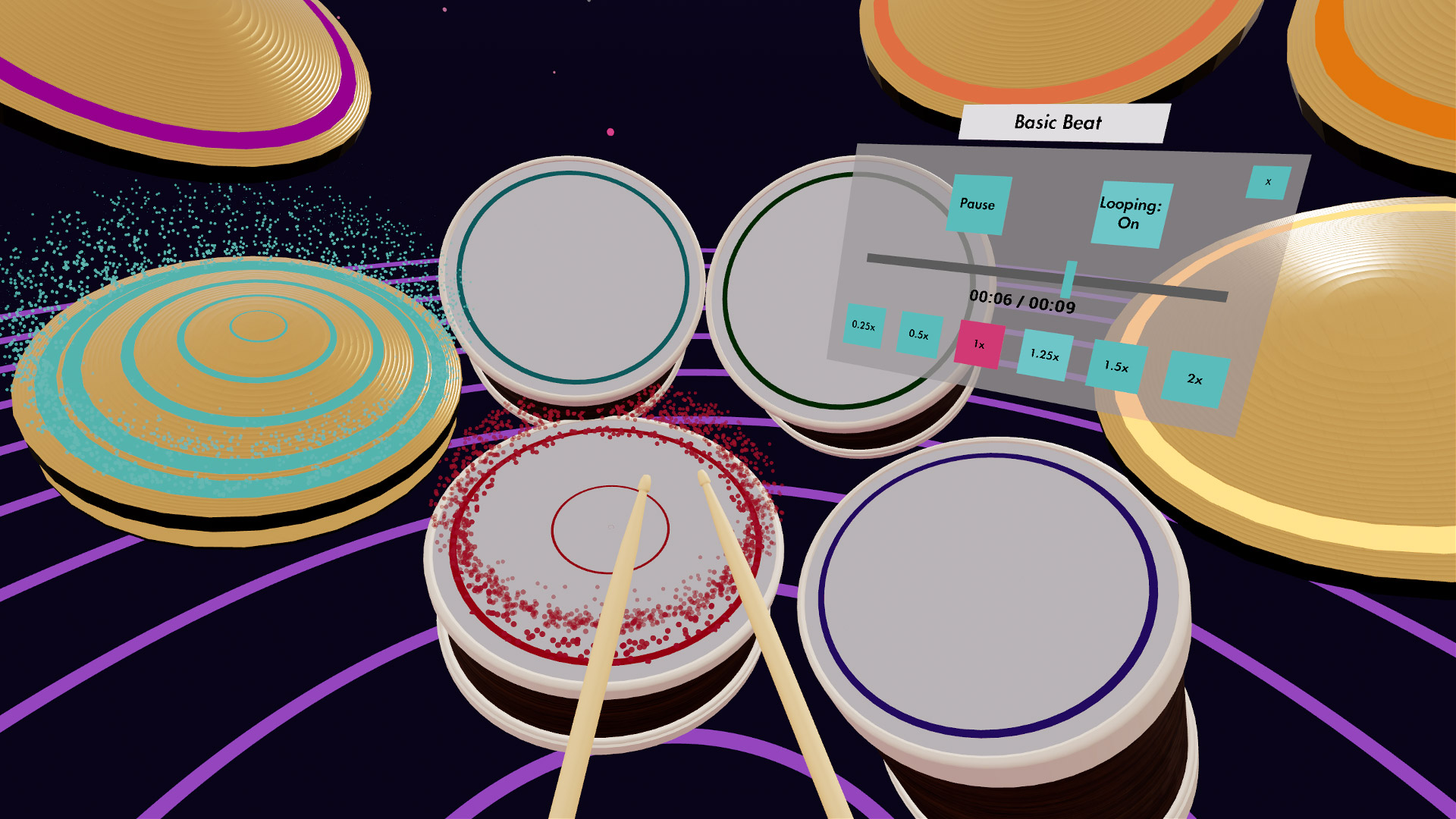 Here's What 100 Hours of VR Drum Practice Gets You