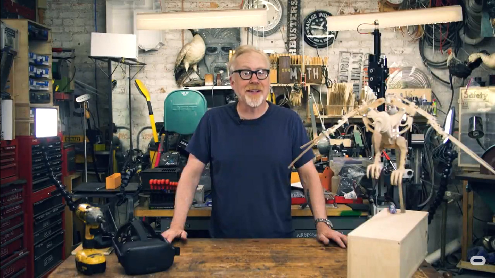 Adam Savage's 'Tested VR' Takes You on a Virtual Tour of Maker Workshops