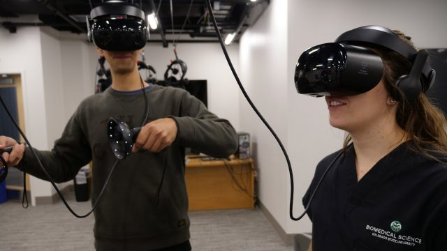 CSU Has Deployed a 100 Headset VR Lab for Biomedical Education 2