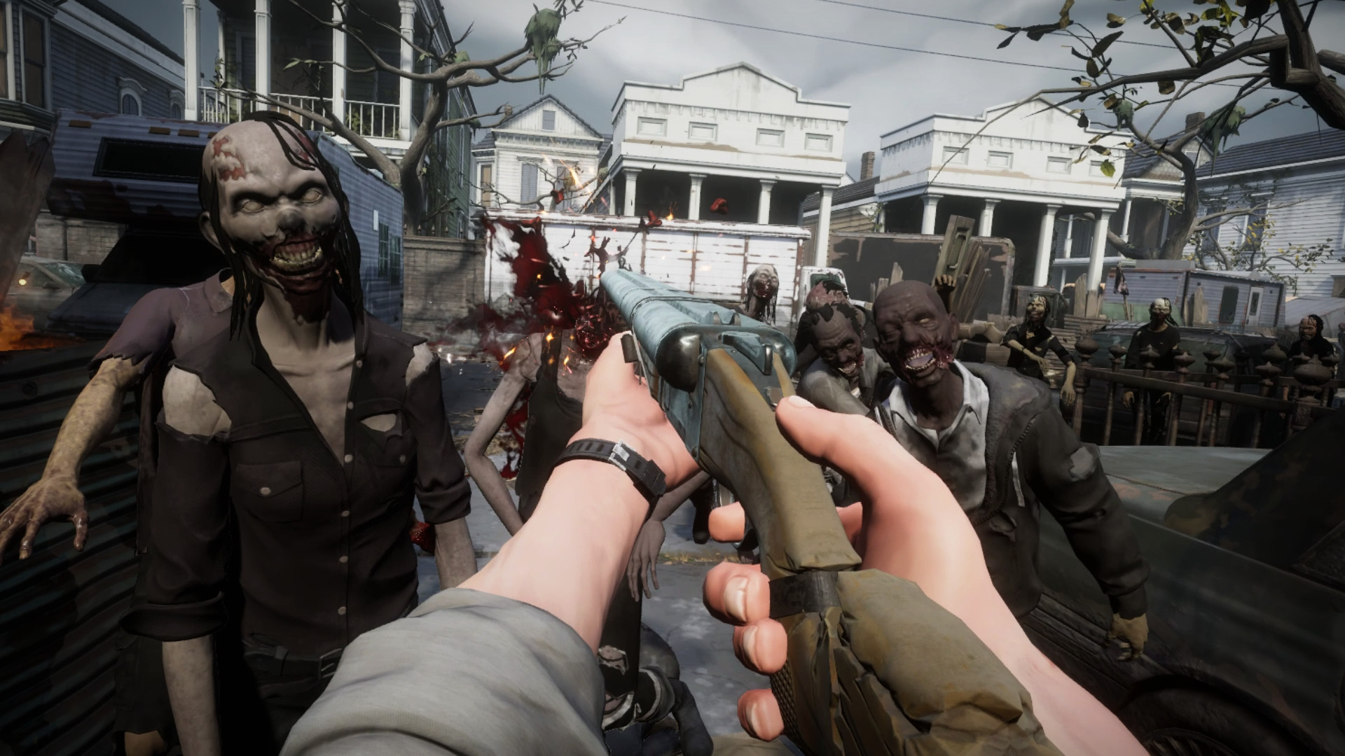 Watch 9 Minutes of 'The Walking Dead: Saints & Sinners' Pre-alpha Gameplay